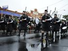 St Andrews Pipe band was participating in the 'Bands on Parade' down the Main Street of Maclean on Saturday 4th April 2015. Photo Debrah Novak / The Daily Examiner