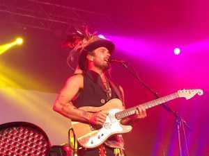 Australian singer songwriter Xavier Rudd at Bluesfest 2015