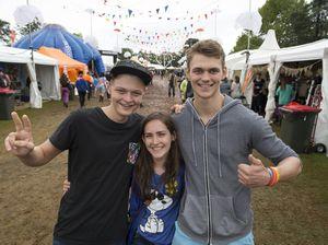 Festival goers at Easterfest 2015