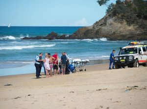 Man dies on beach after being pulled from surf