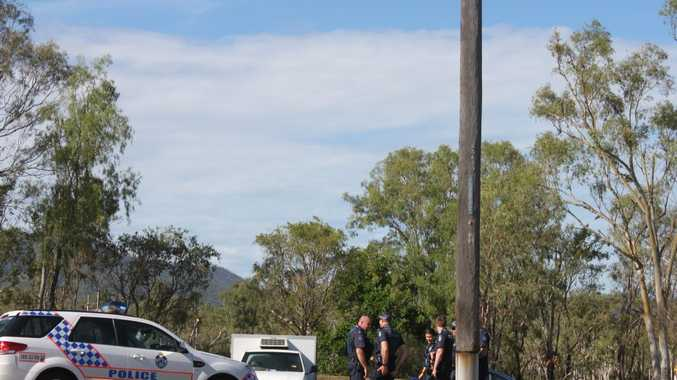 WATER BLUES: A number of police were called to the Rockhampton Boat Ramp this afternoon where a incident broke out on the water and people were taken into custody.