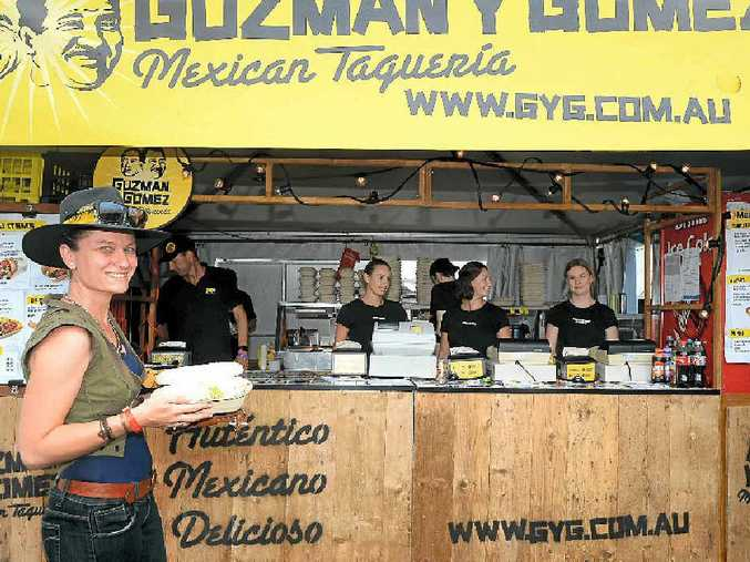 SERVING NOTICE: The Gozman y Gomez stall was a popular addition in the food court.