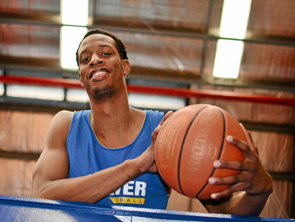 STAR IMPORT: Ray Willis has arrived from Atlanta, Georgia, with high hopes to take Gladstone to a QBL title.