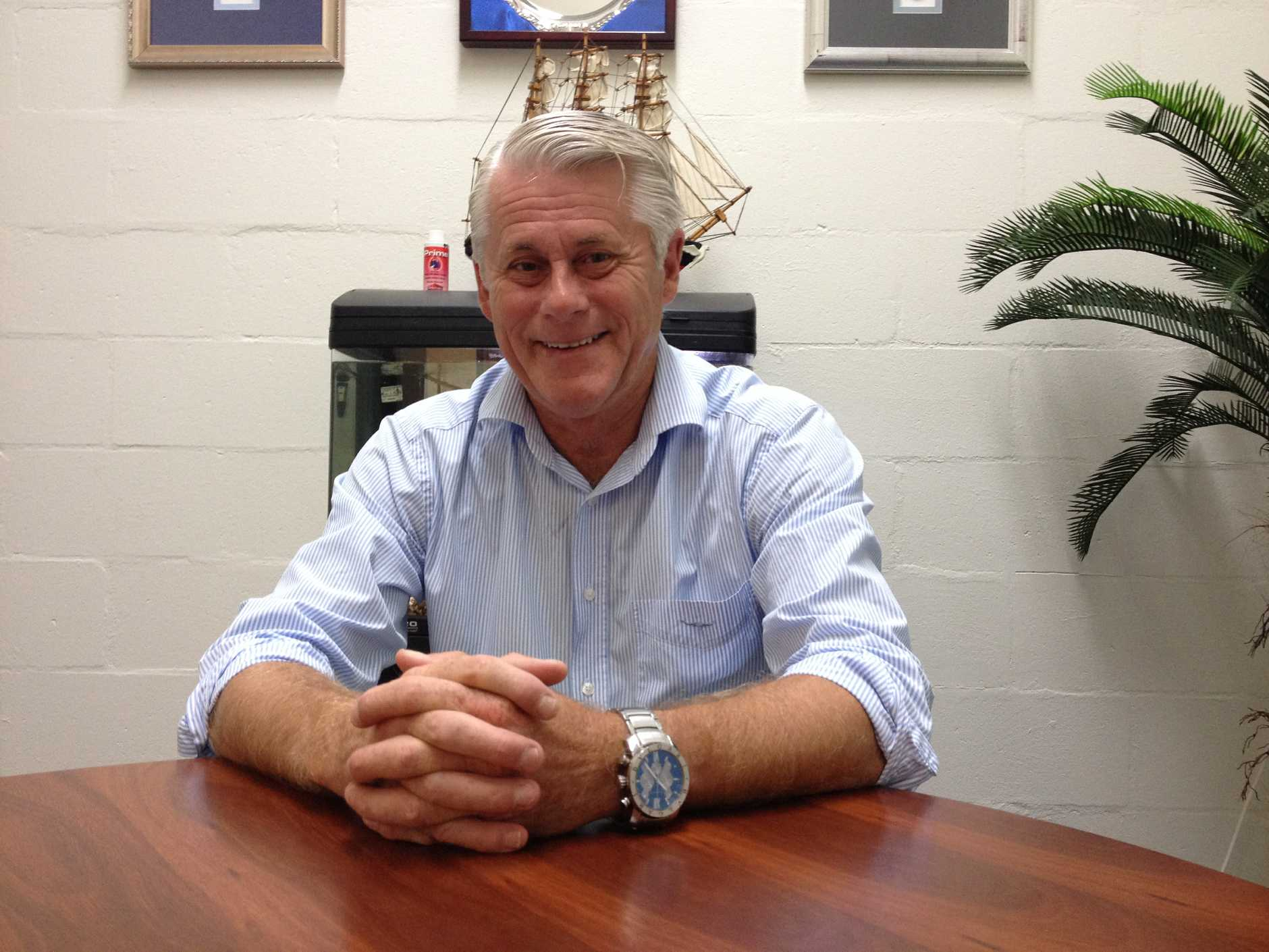 NEW TERM: Tweed MP Geoff Provest in his electorate office in Tweed says he has a new plan for Tweed.