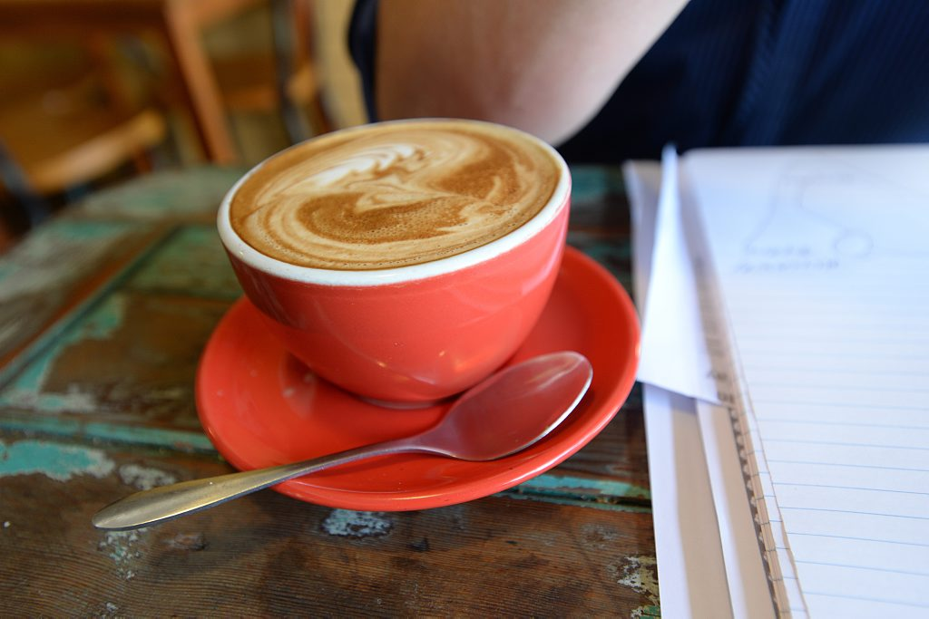 Cup of Coffee. Photo: Trevor Veale / The Coffs Coast Advocate