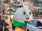 The Workforce Easter Street Parade - the GPC Bunny is always popular.