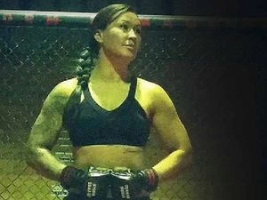 Gympie mum an MMA fighting star