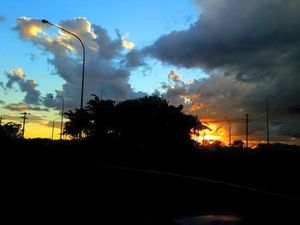 Your photos: Stunning cloud formations over Gladstone