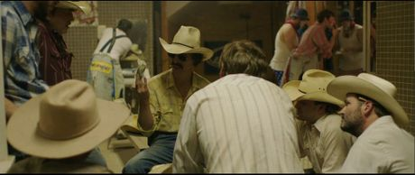 Matthew McConaughey in a scene from the movie Dallas Buyers Club. Supplied by Pinnacle Films.