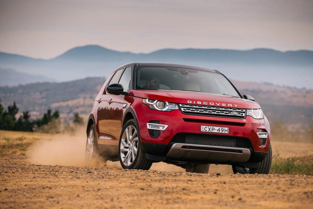 The new Land Rover Discover Sport.