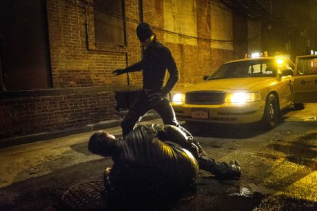Charlie Cox in a scene from the Netflix TV series Marvel's Daredevil.