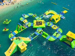 Airlie Beach backs aqua parks which are set to be a drawcard