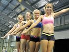 GOOD FORM: Mackay gymnasts Nicole Valary, Jennifer Allen-Water, Megan Born and Ally Benjamin will travel to Brisbane for the Senior State Championships and State Trials this weekend.