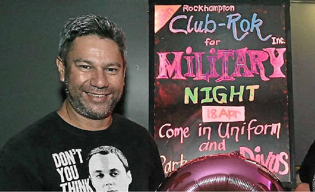 LGBTI FRIENDLY: Club-Rok secretary Alan Flood says Rockhampton is inclusive of the LGBTI community, despite a survey confirming homophobic attitudes of teenage boys.