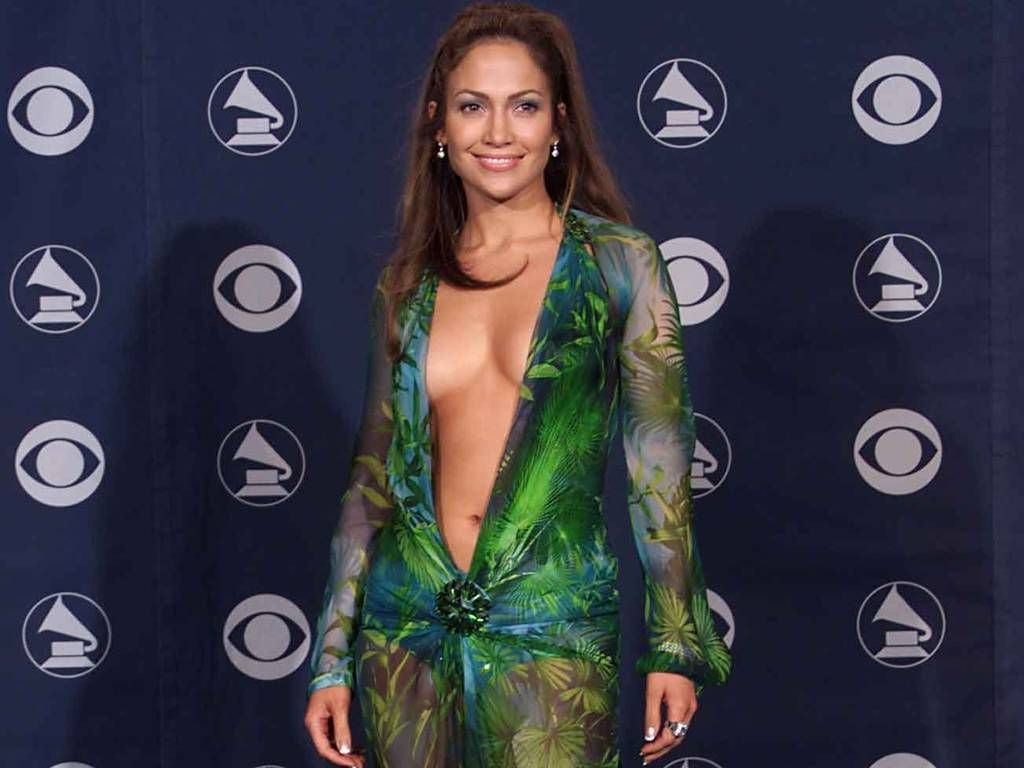 The singer's Grammy dress led to a huge surge in traffic the Google chairmen revealed.