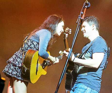 GUITAR VIRTUOSOS: Rodrigo y Gabriela at Bluesfest 2015.