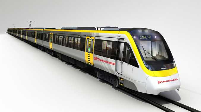 An artist's impression of the New Generation Rolling Stock