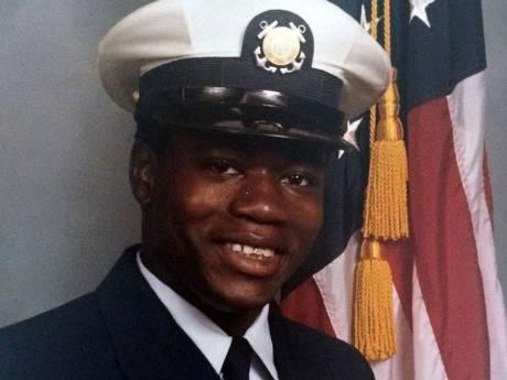 Police shooting victim Walter Scott in his Coast Guard uniform.