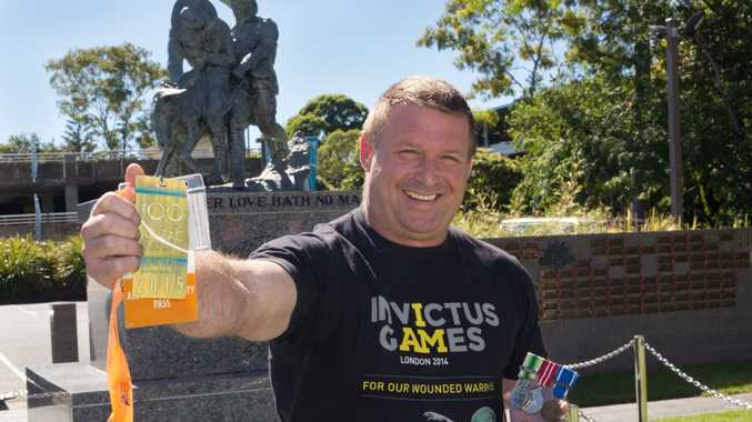 Scott Seccombe is going to Gallipoli to attend the dawn service on Anzac Day. Photo: Gemima Harvey/Coffs Coast Advocate