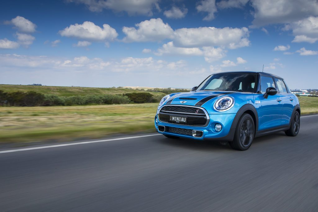 The Mini 5-Door Cooper S.