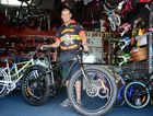 Dave McIntosh has sold six fatboy style bicycles this year and can see why they are becoming a popular choice for riders.