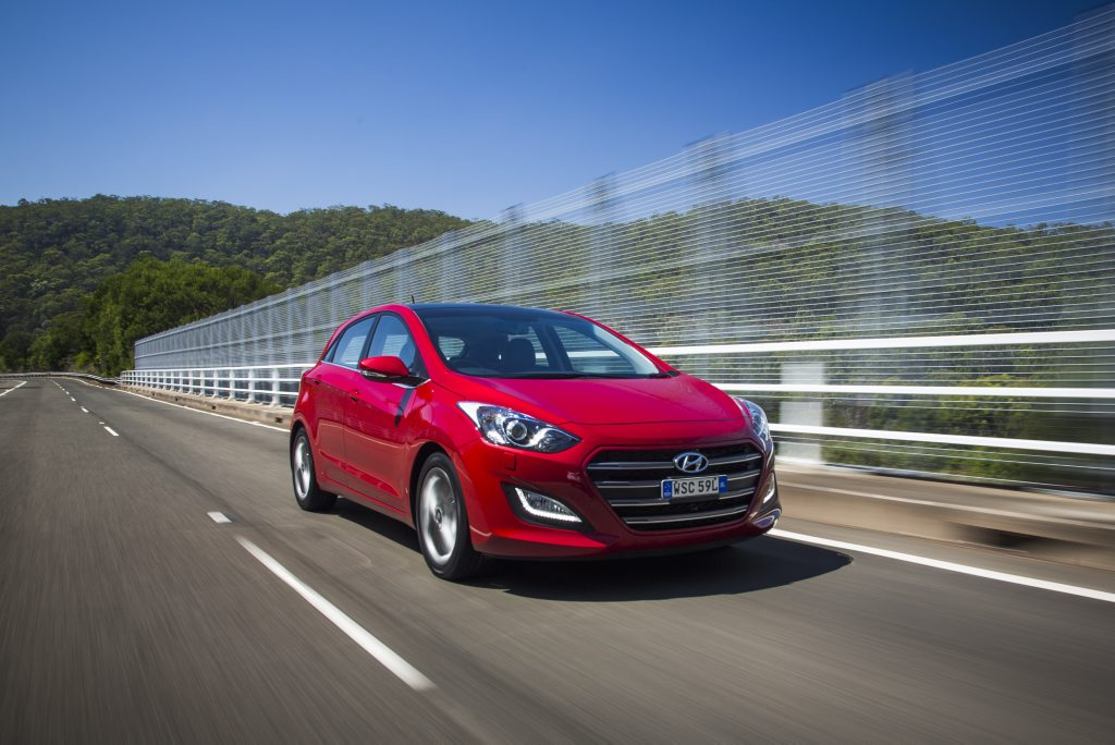 The 2015 Hyundai i30 Series II.
