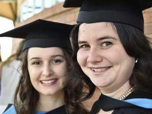 USQ students graduate