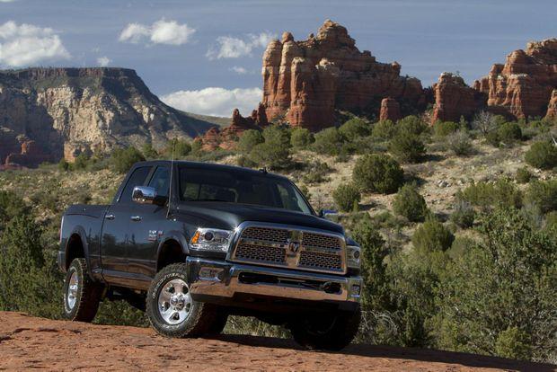 The Ram truck range will be available in Australia from September.