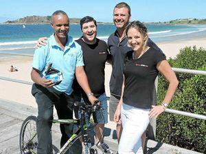 Generosity shines bright as Goitom gets a new bike