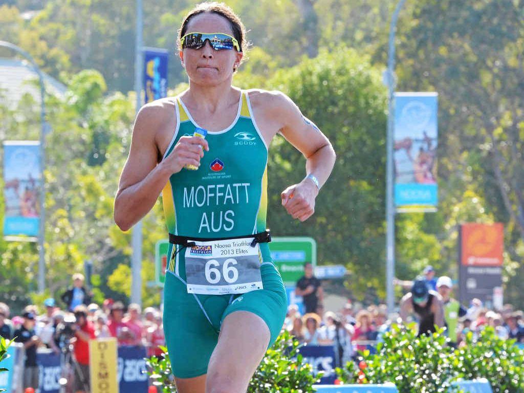 VETERAN: Triathlete Emma Moffatt will have huge Coffs Coast support in today's ITU event. Photo: John McCutcheon