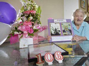 Marvellous Marjorie's milestone of 106