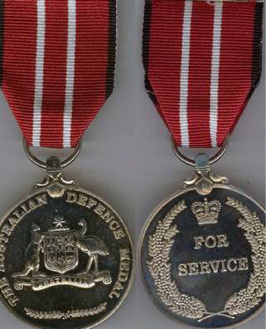An Australian Defence Medal, similar to the one stolen from veteran John Grove.