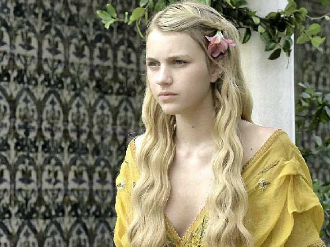 Nell Tiger Free as Princess Myrcella in Game of Thrones.