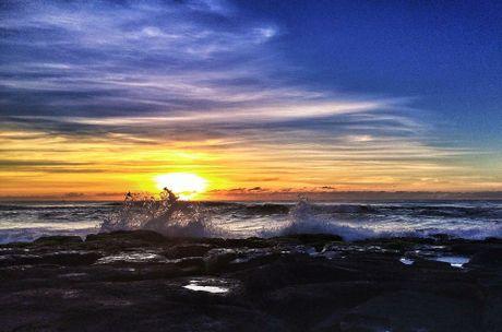 Shelly Beach sunrise.