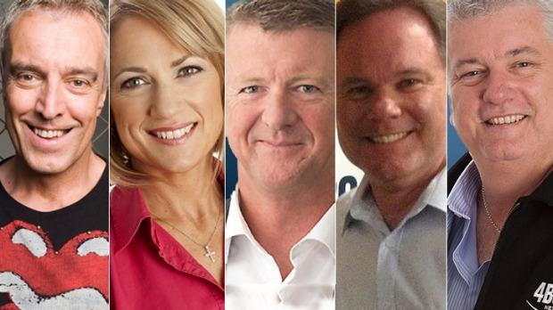High-profile hosts Ian Skippen, Loretta Ryan, Patrick Condren, Murray Shoring and Walter Williams will no longer be heard on the station. Photo: Supplied
