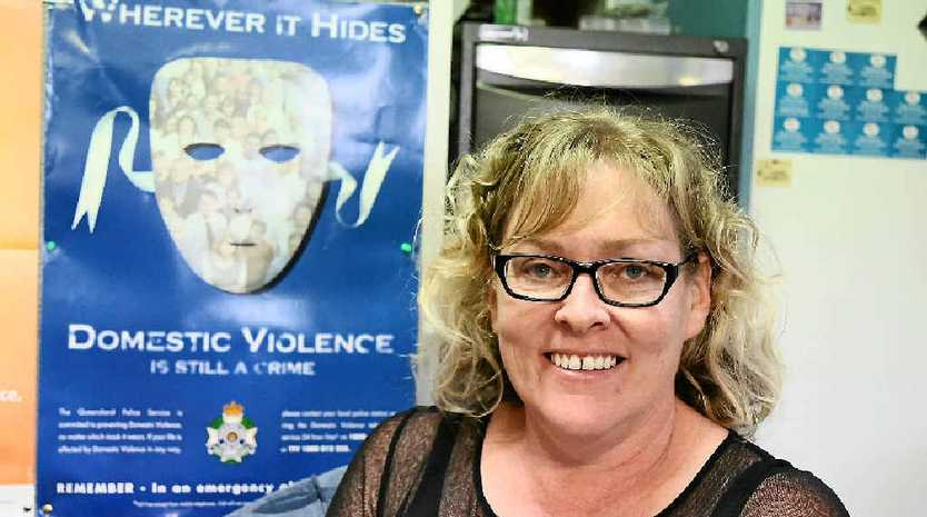 GRIM REALITY: Women's Shelter manager Beverley Schimke wants more to be done to protect and assist victims.