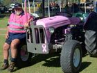 YESTERYEAR: David Peterson at the Tegege Yesteryear Rally on Sunday, 12 April 2015. Photo: Max Fleet / NewsMail