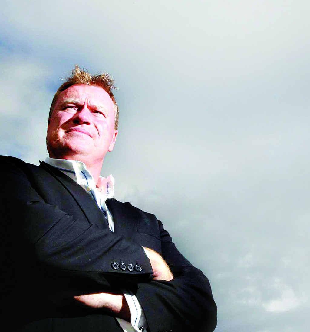 LOOKING FORWARD: Western Corridor NRL bid chairman Steve Johnson