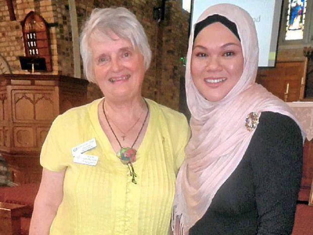 UNITED FRONT: Julia Adlington (left) and Dr Nora Amath.