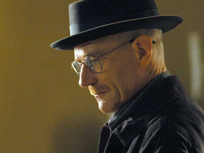 IN FOCUS: Hit television series Breaking Bad, which starred Bryan Cranston as Walter White, brought the issue of ice into sharp focus, according to psychologist Stephen Braun (inset).