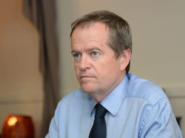 Leader of the opposition, Bill Shorten.