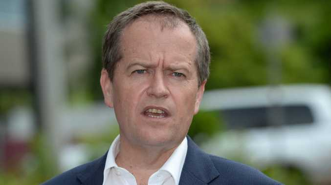 Bill Shorten in Yeppoon to lend support to ALP candidate for Keppel (State Seat) Brittany Lauga.