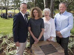 Garnet Lehmann Park opens