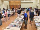 Rotary Club of Hervey Bay Sunrise book sale at the Hervey Bay Community Centre.