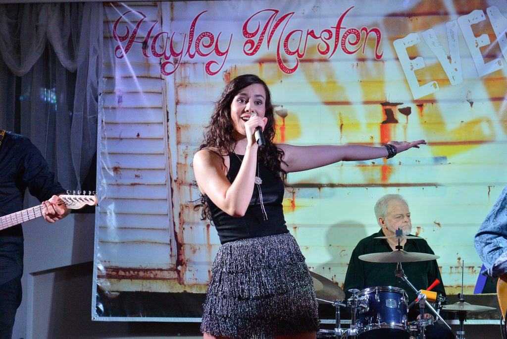 Hayley Marsten launched her new EP to a full house at RG's on Saturday.