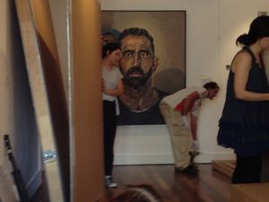 The Archibald exhibition packs up at Lismore