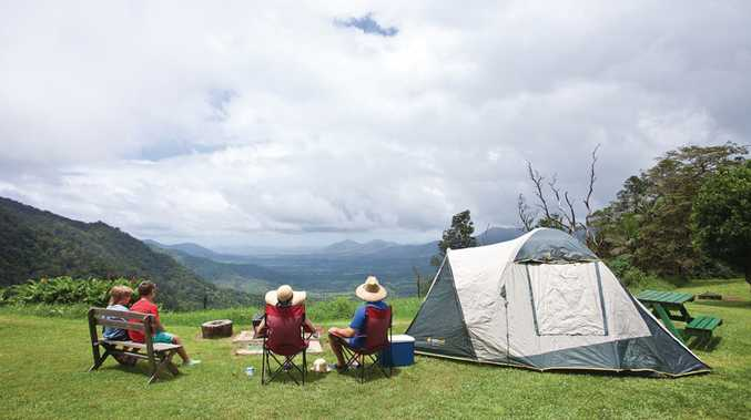 Camping at Eungella. Photo: Tourism and Events Queensland