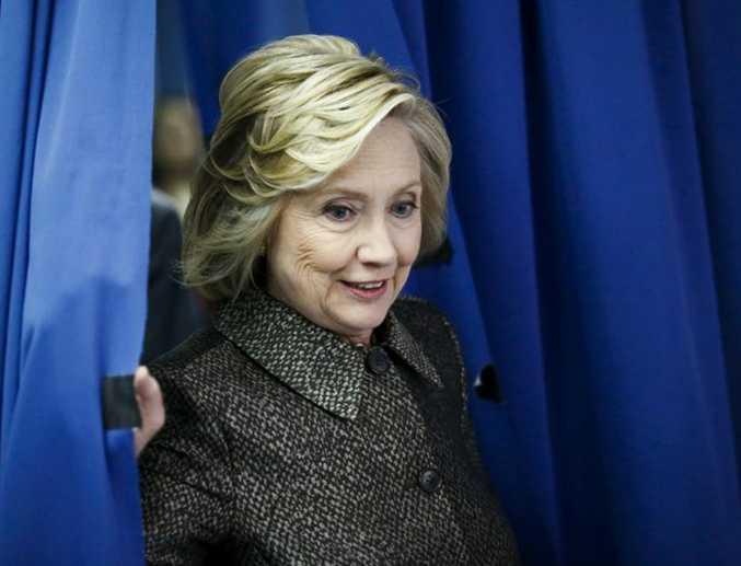 Hilary Clinton has pulled ahead of Democrats rival Bernie Sanders.