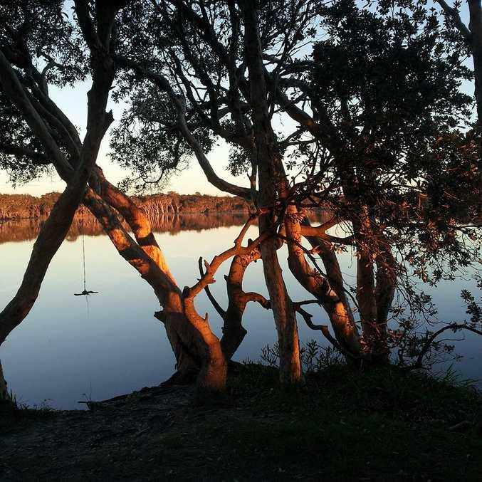 Lake Ainsworth.