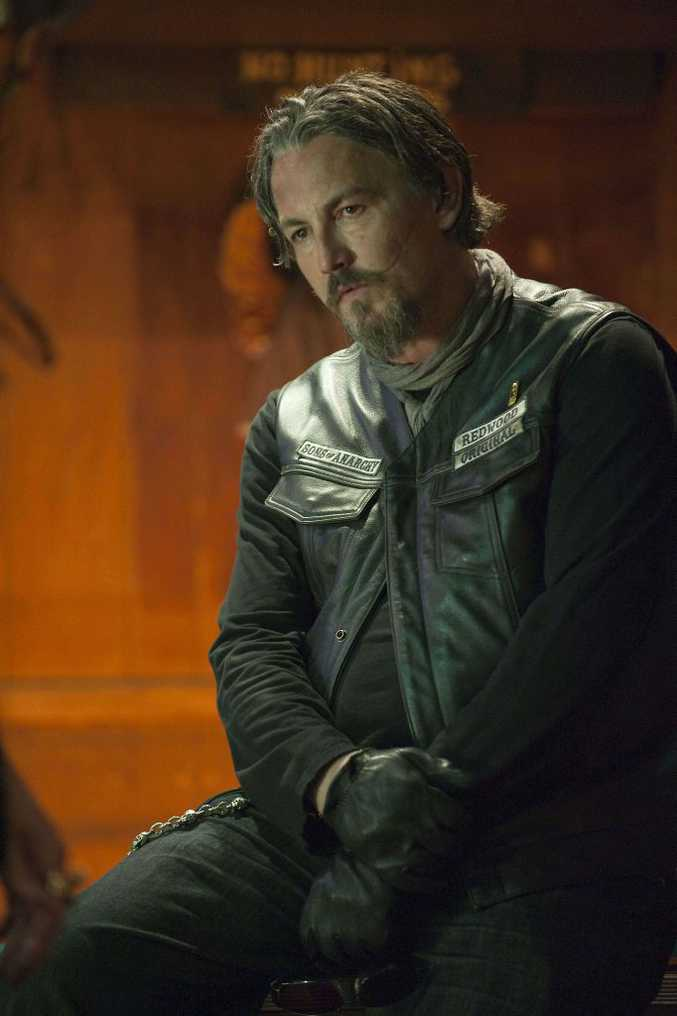 Tommy Flanagan in a scene from Sons of Anarchy.
